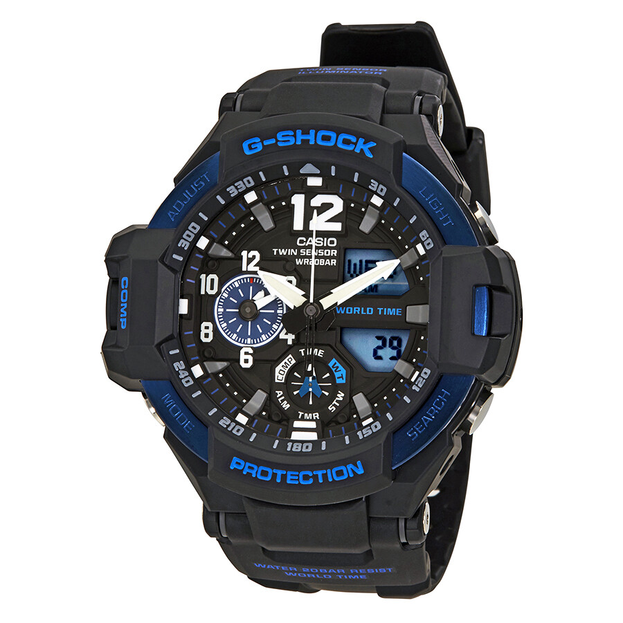 e273959c0a85a Casio G-Shock Gravitymaster Men s Sports Watch GA1100-2B - G-Shock ...