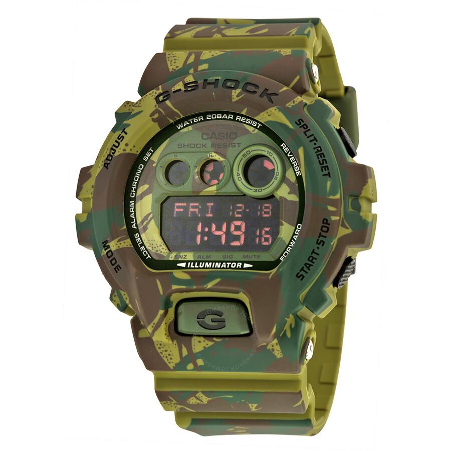92128730fbc Casio G-Shock Green Camo Dial Resin Men s Watch GDX-6900MC-3 - G ...