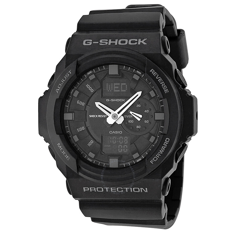 Casio g shock magnetic resistant multi function men 39 s watch ga150 1acr g shock casio for Magnetic watches