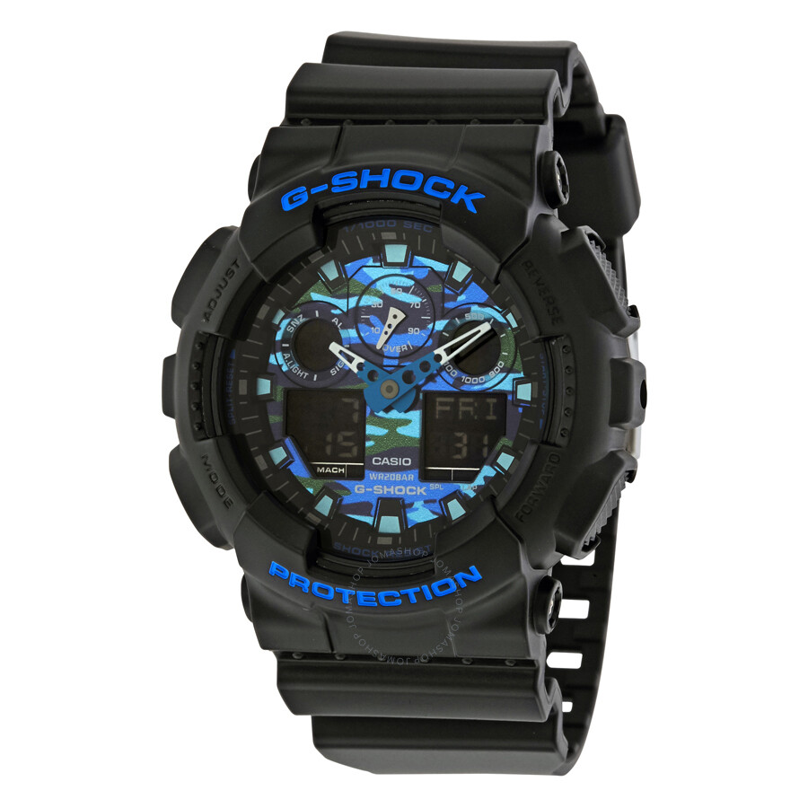 833cdcded375 Casio G-Shock Men s Analog-Digital Watch GA100CB-1A - G-Shock ...