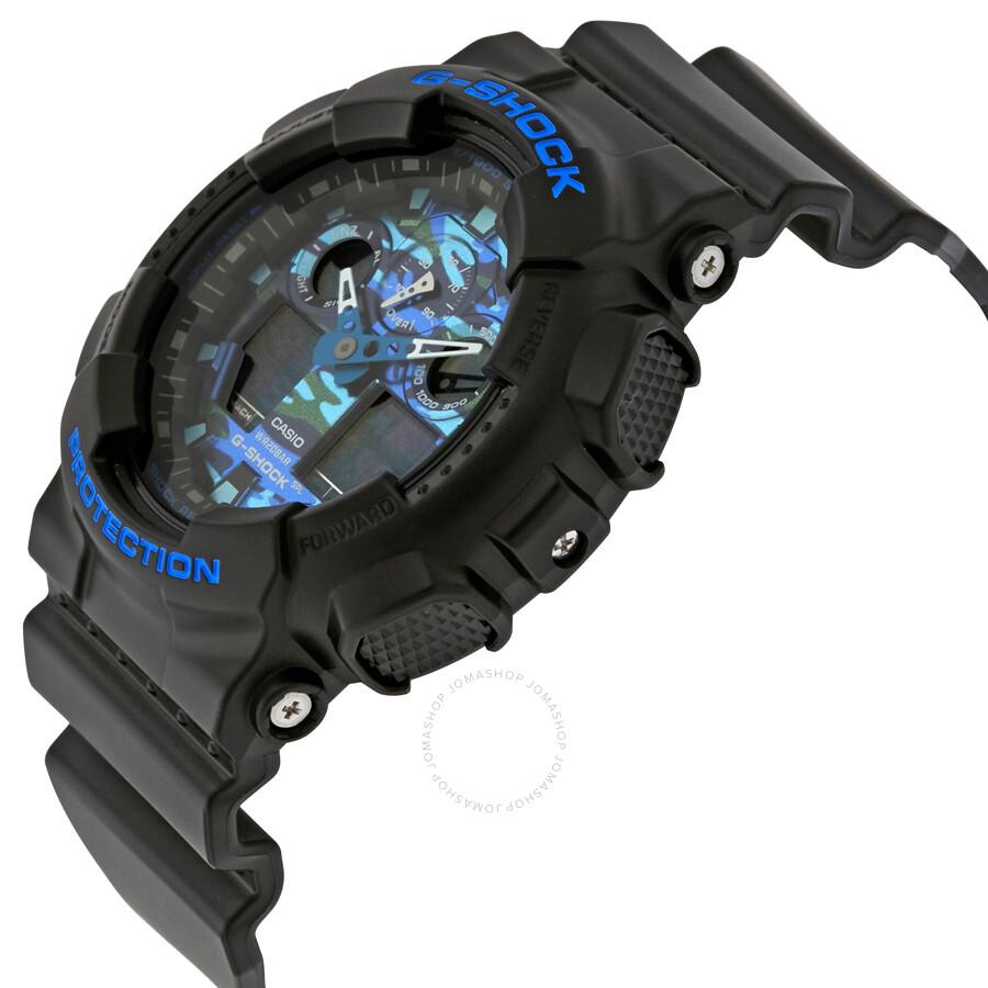 ad8e82bb2 Casio G-Shock Men's Analog-Digital Watch GA100CB-1A - G-Shock ...