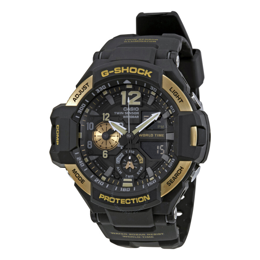 casio g shock s analog digital ga1100 9g g