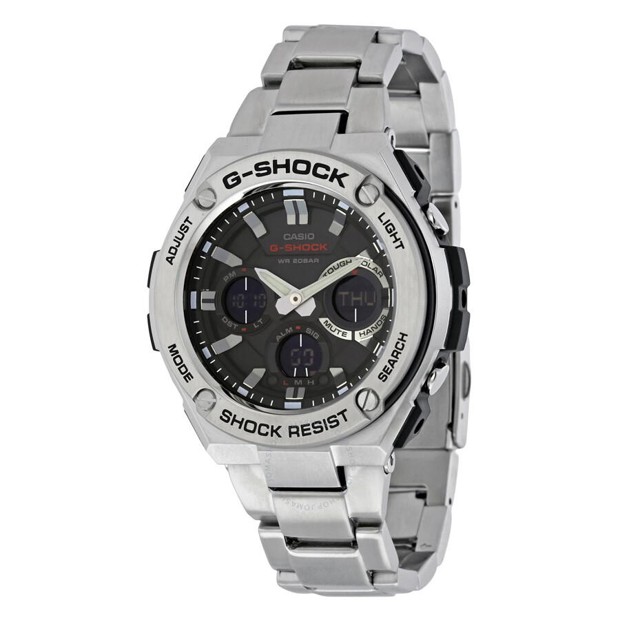 Casio G Shock Men S Analog Digital Watch Gsts110d 1a G Shock