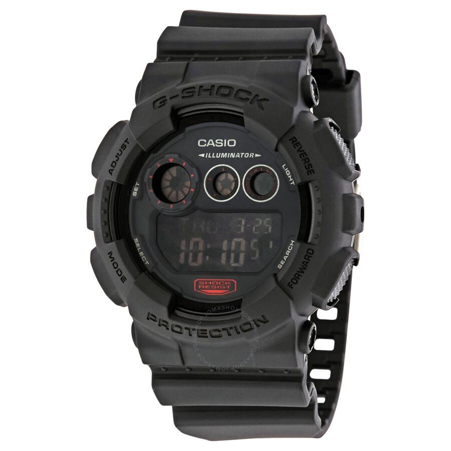 f125a1f8c53a Casio G-Shock Men s Digital Watch GD120MB-1 - G-Shock - Casio ...