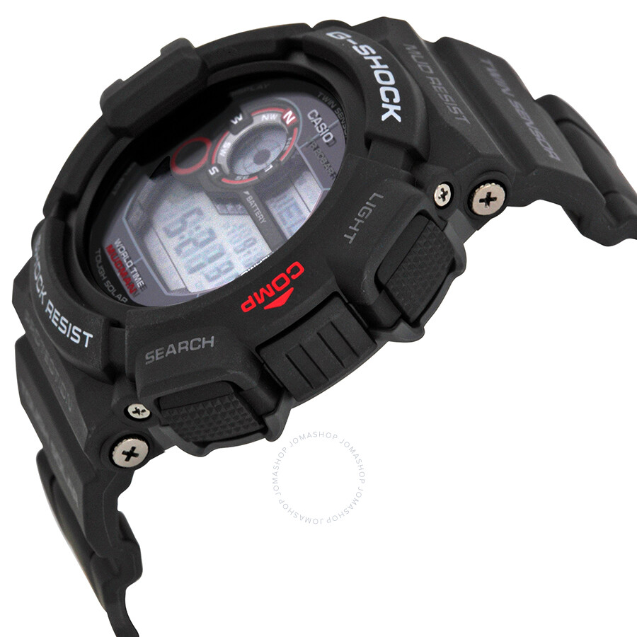 casio g shock mudman scorpion digital black resin s