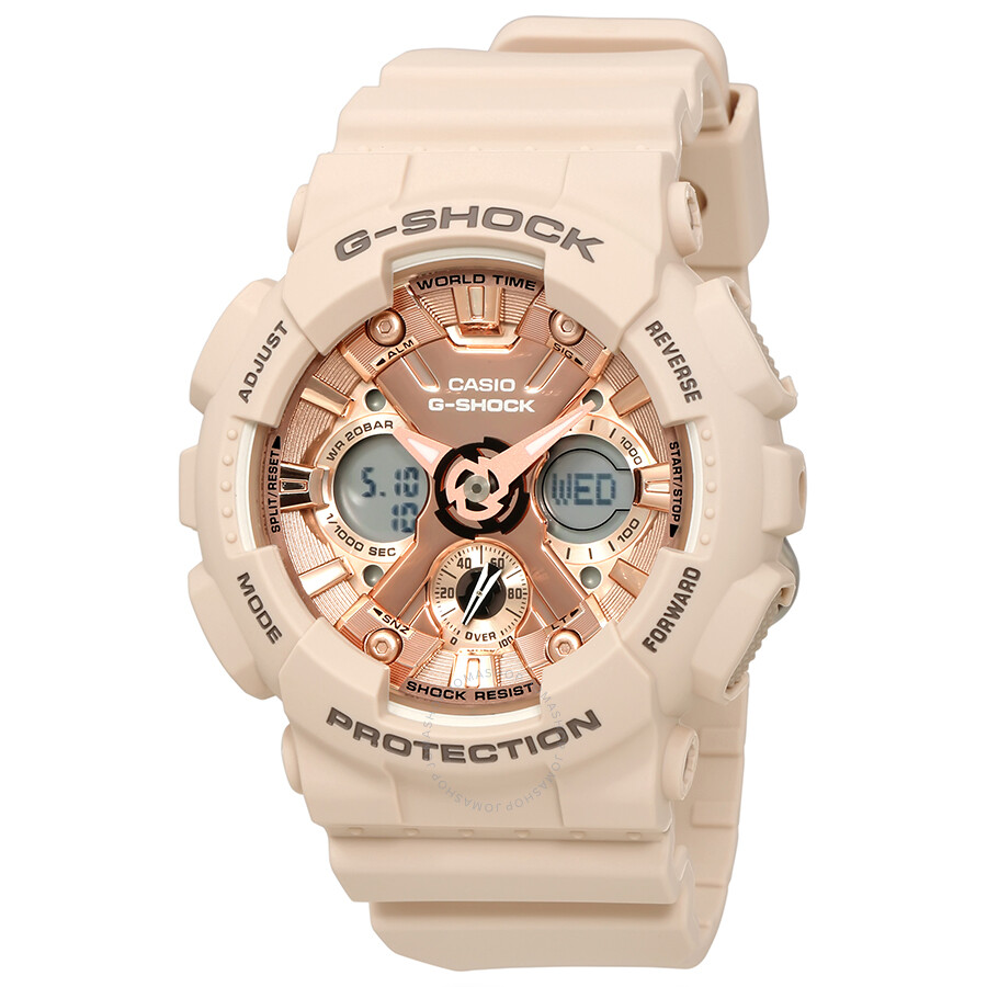 6c585618184a Casio G-Shock Rose Gold-Tone Dial Unisex Watch GMA-S120MF-4ACR - G ...