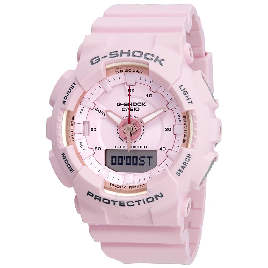 13885fdec731 Casio G-Shock S Series Alarm Pink Dial Ladies Watch GMA-S130-4ACR ...