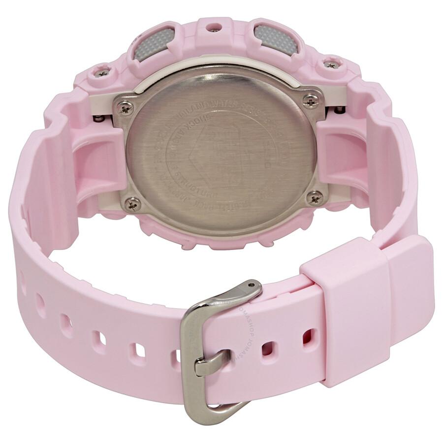 fadfaa3ad6d2f Casio G-Shock S Series Alarm Pink Dial Ladies Watch GMA-S130-4ACR ...