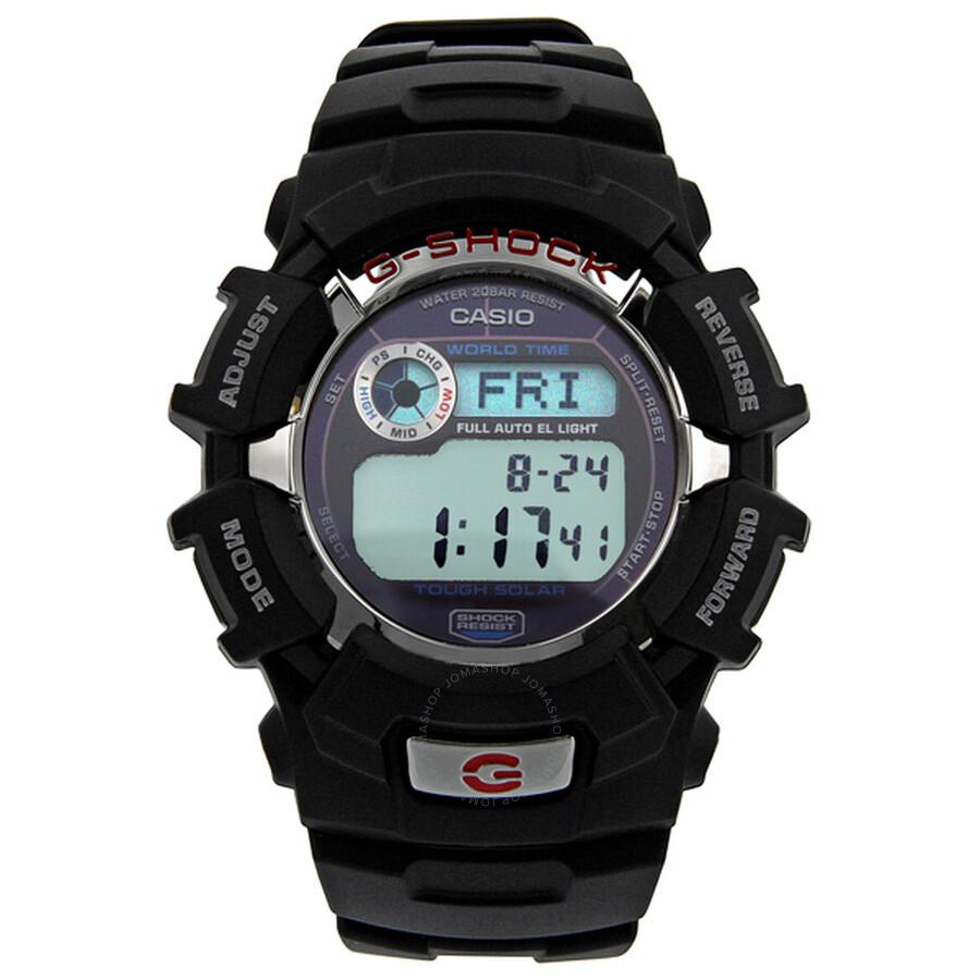 67f2f13ea19e Casio G Shock Solar Powered Multifunction Black Resin Men s Watch G2310R-1