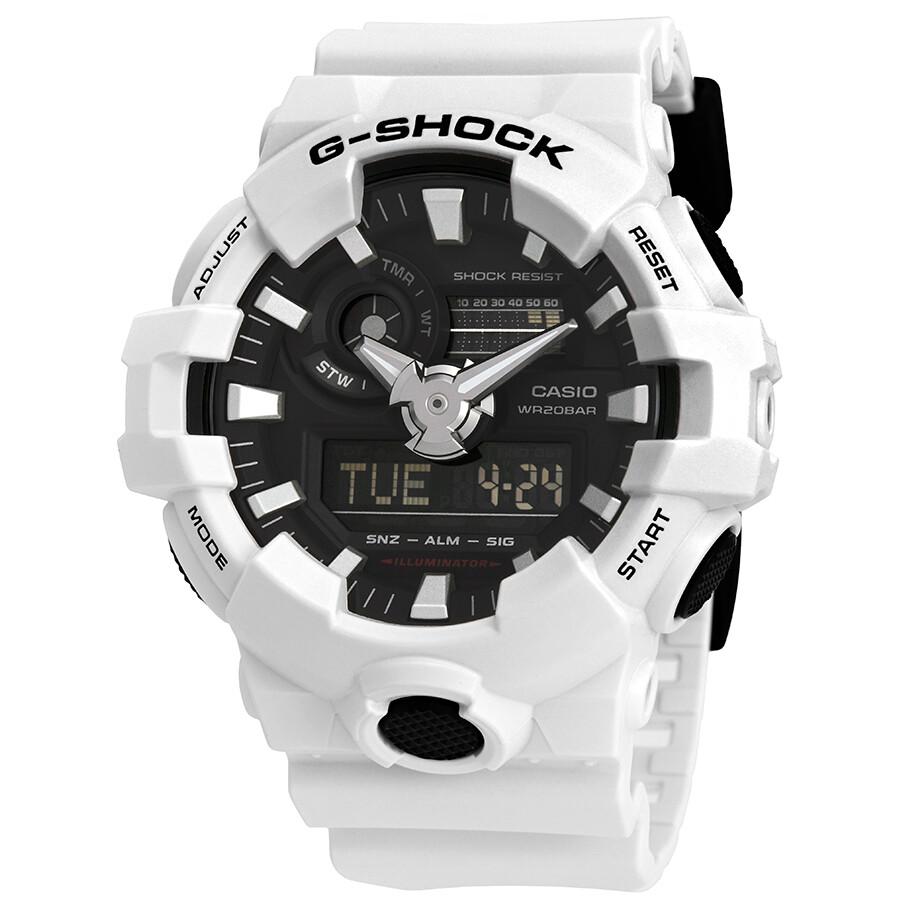 11005b3ead8d1 Casio G-Shock World Time Black Dial Men s Analog-Digital Watch GA-700 ...