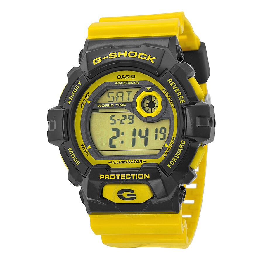 Casio G Shock Yellow Resin Men S Watch G8900sc 1ycr