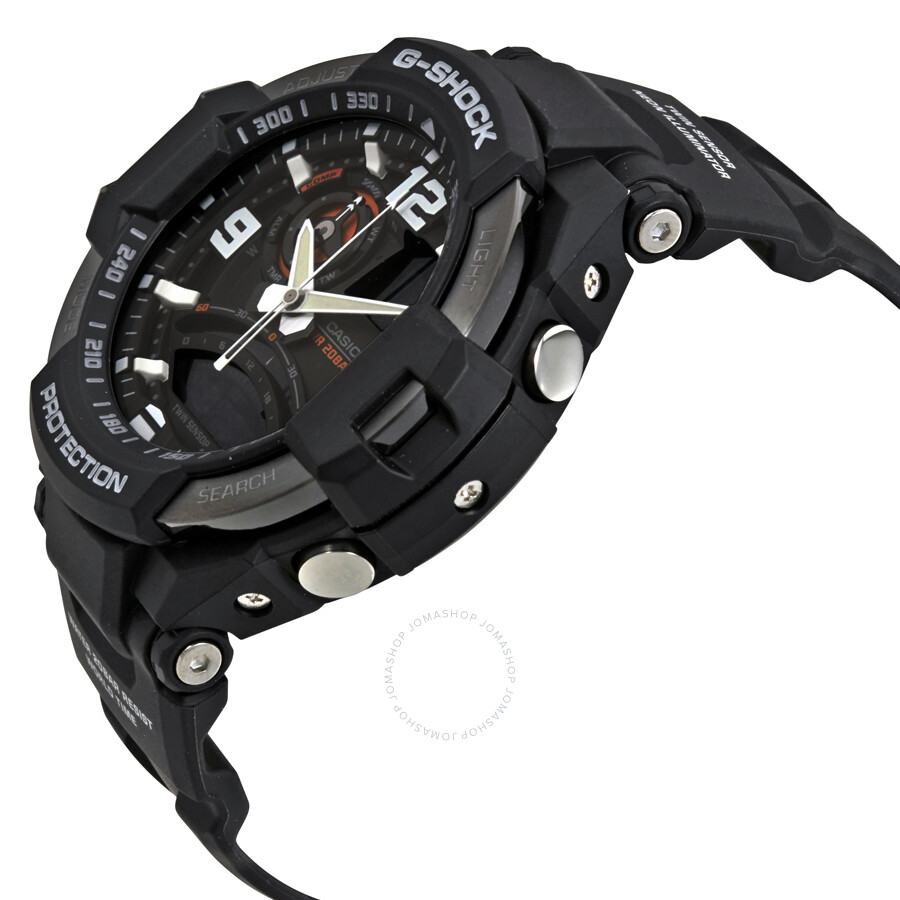 1037fcbe845 Casio G-Shock Aviation Black Resin Men s Watch GA1000-1ACR - G-Shock ...