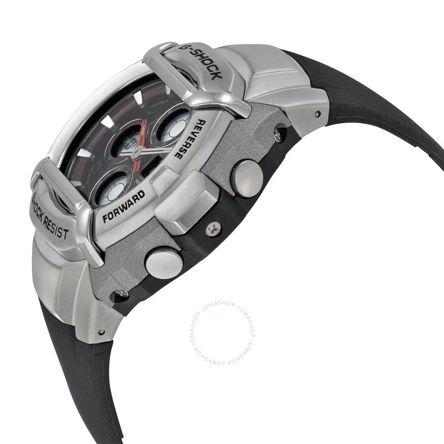 how to set a digital g shock watch