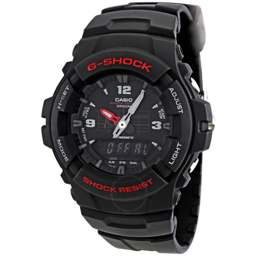 e6016ff461f7 Casio G-Shock Anti-Magnetic Men s Analog-Digital Watch G100-1BV - G ...