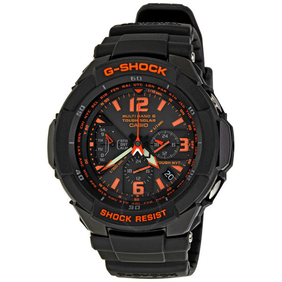 sneakers for cheap 89add c3f20 Casio G-Shock Aviation Men's Watch GW3000B-1A