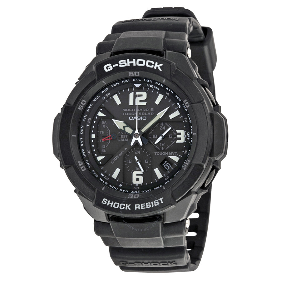 Casio G-Shock Aviation Tough Solar Atomic Timekeeping Multi-Function Men s  Watch GW3000BB- ... d7da08760d
