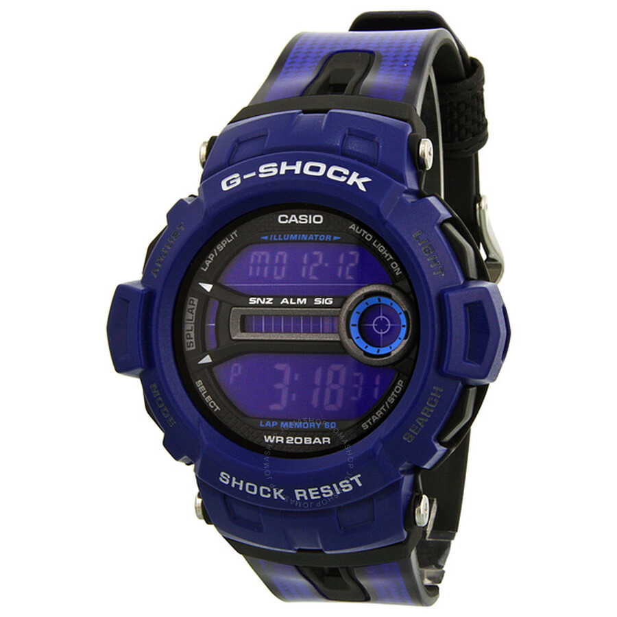 Casio G-Shock Blue Digital Men s Watch GD200-2E - G-Shock - Casio ... 880e1230d12d