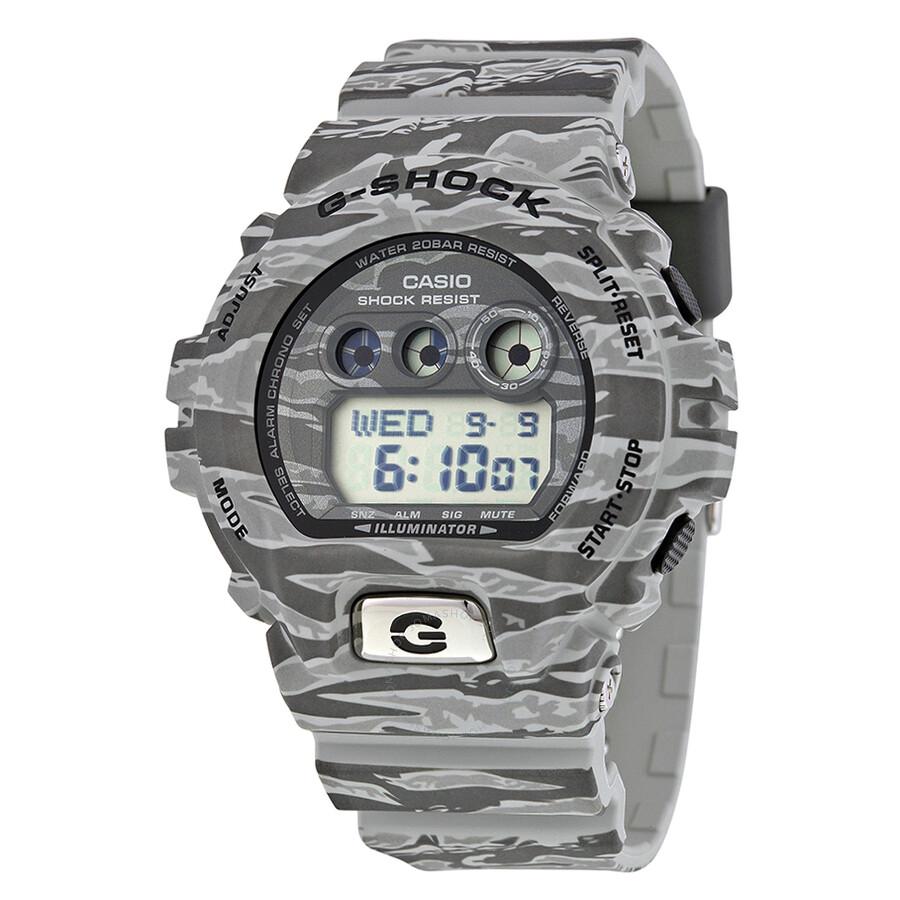 Casio G-Shock Classic Grey Digital Grey Camouflage Resin Men s Watch  GDX6900TC-8CR ... 9f31b472771f