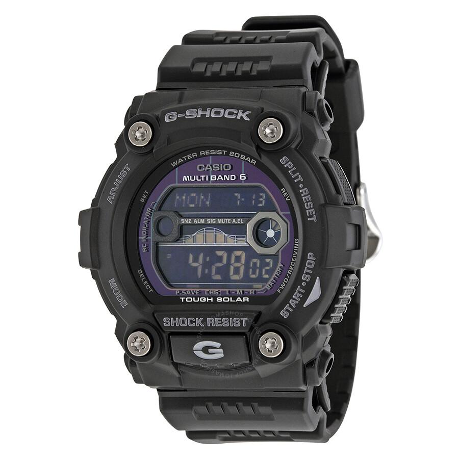 casio g shock digital black resin s gw7900b