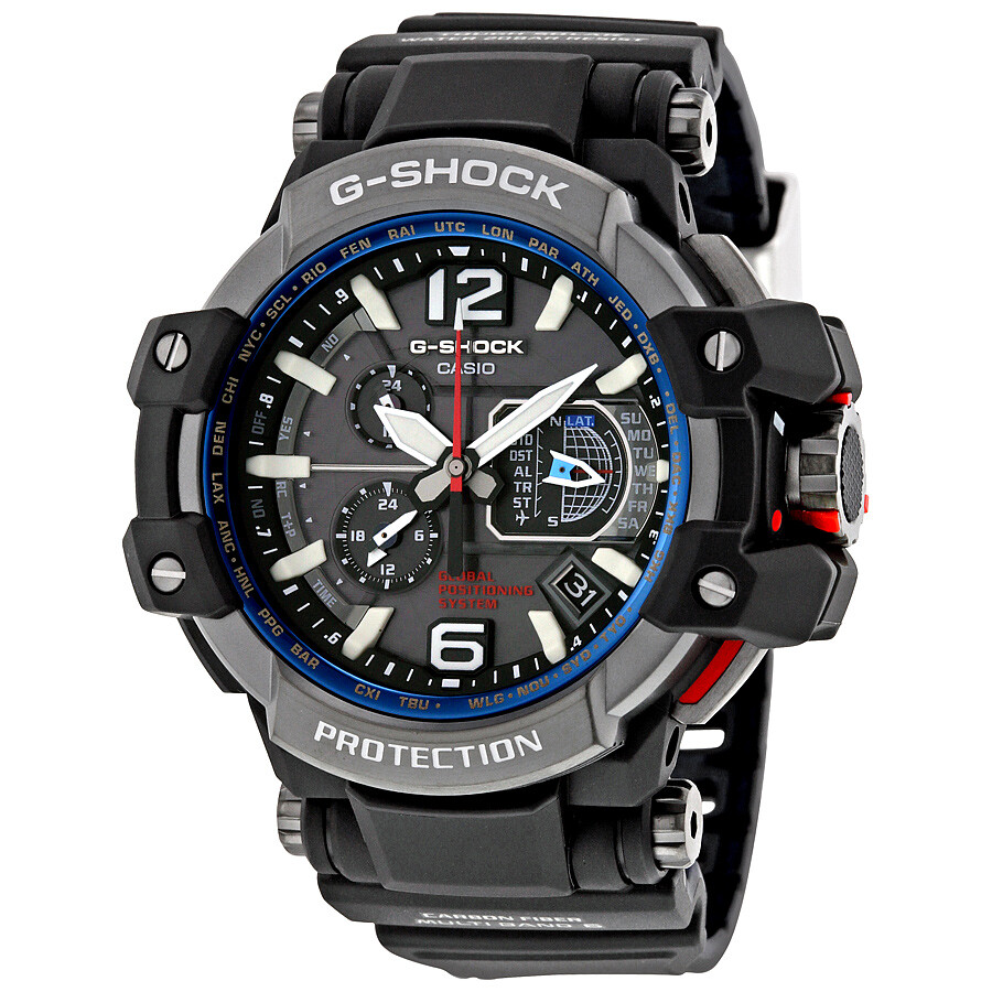 Casio g shock gravity master hybrid gps men 39 s watch gpw 1000 1acr g shock casio watches for Watches g shock