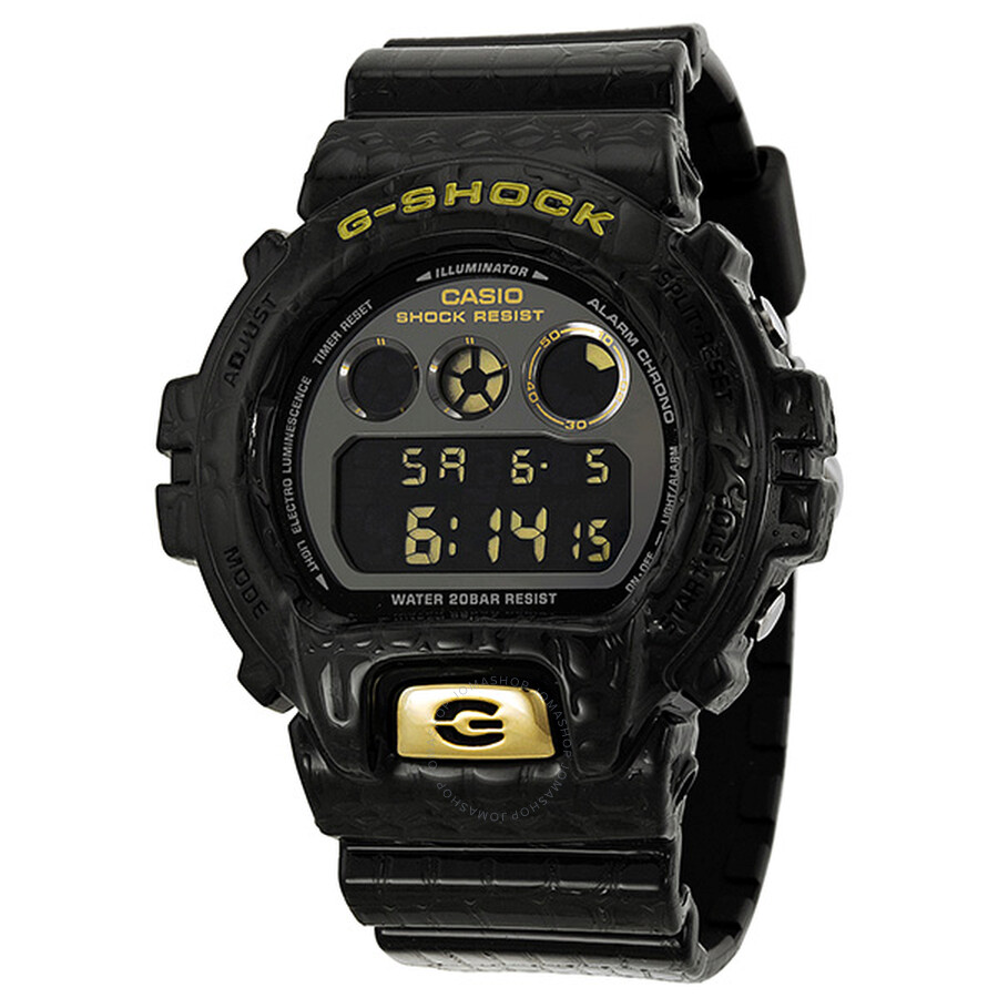d90717fee83 Casio G-Shock Limited Edition Textured Black Resin Men s Watch Item No.  DW6900CR-3CR