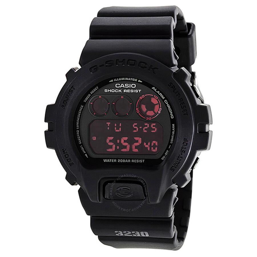 Casio G-shock Multi-function Digital Black Resin Men U0026 39 S Watch Dw6900ms-1cv - G-shock