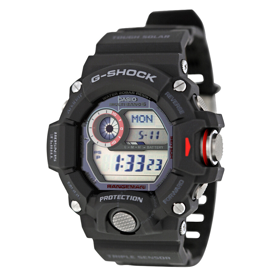 half off 4d8ed 8bb7b Casio G-Shock Rangeman Multi-Band 6 Atomic Timekeeping Digital Dial Men's  Watch GW9400-1