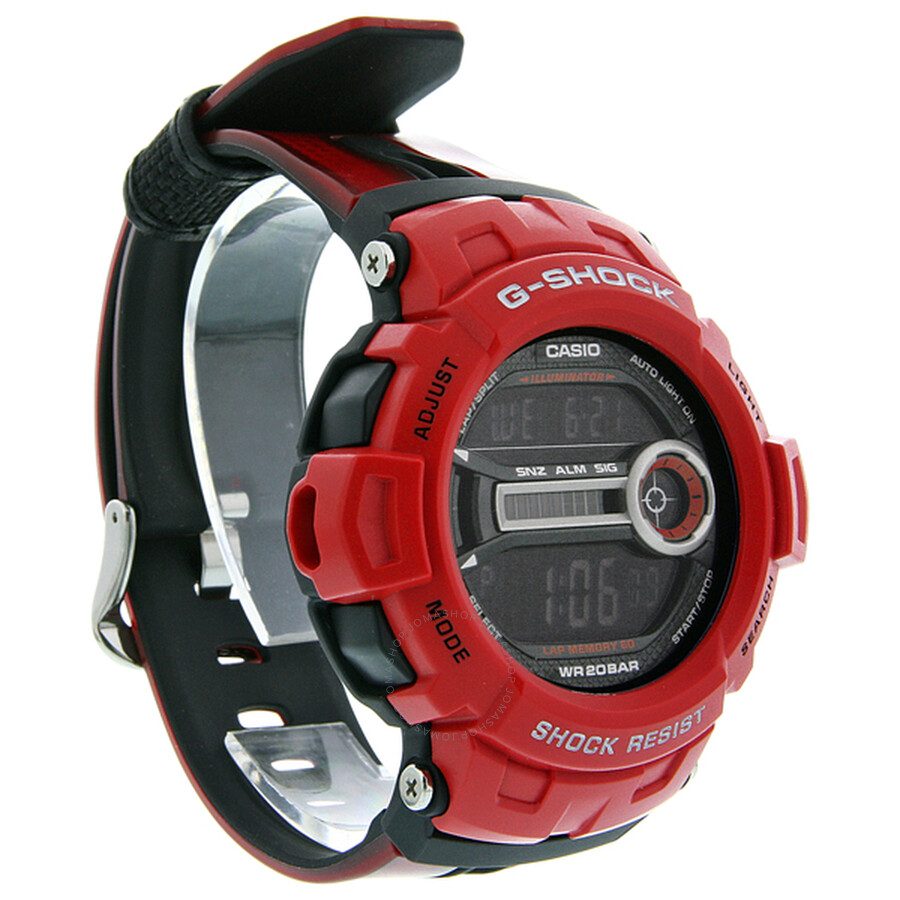 cbe3f9f0f77e6 Casio G-Shock Red Digital Men s Watch GD200-4E - G-Shock - Casio ...