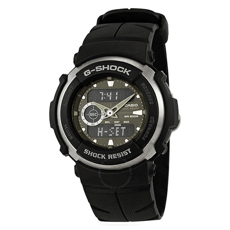 Casio G-Shock Street Rider Black and Green Men's Watch G300-3AVDR