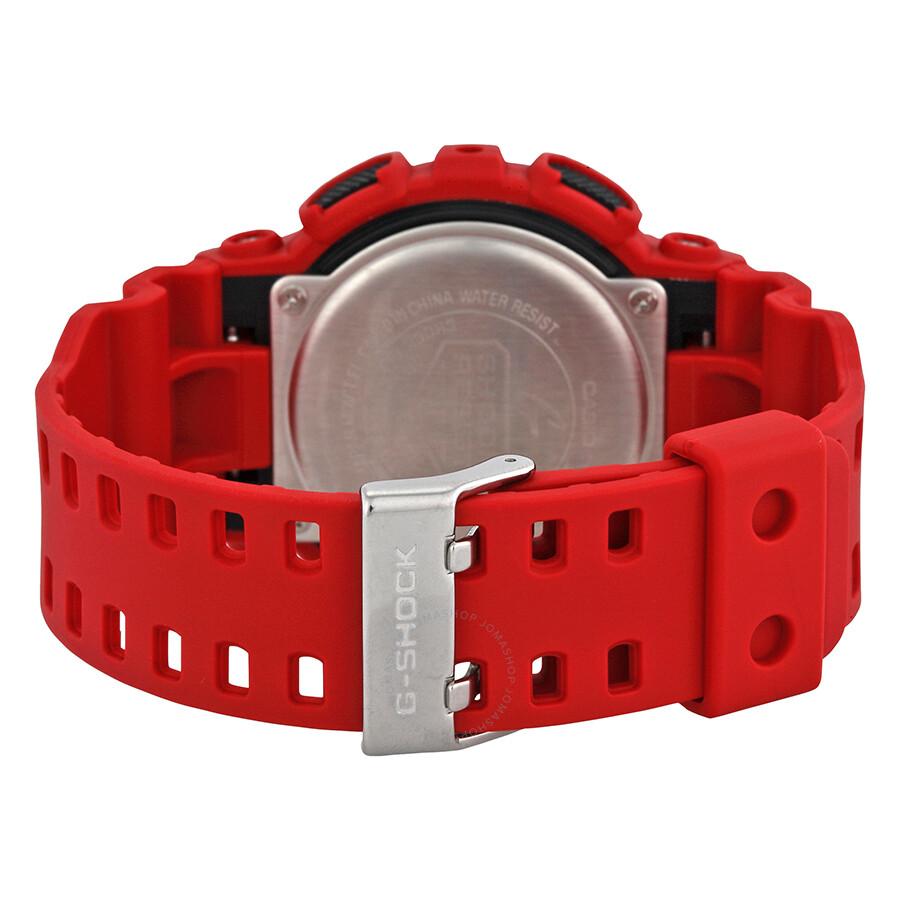 Casio G-shock Xl Analog-digital Black Dial Unisex Watch Ga100b-4a - G-shock - Casio