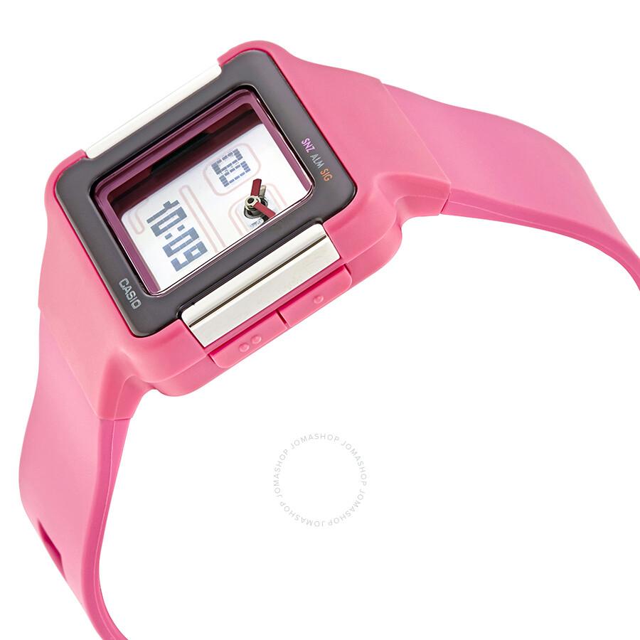 Manual Casio Lcf 20 Toshiba Color Tv 34hf85 Service Array Pink Resin Ladies Digital Watch 4 Watches Rh Jomashop Com