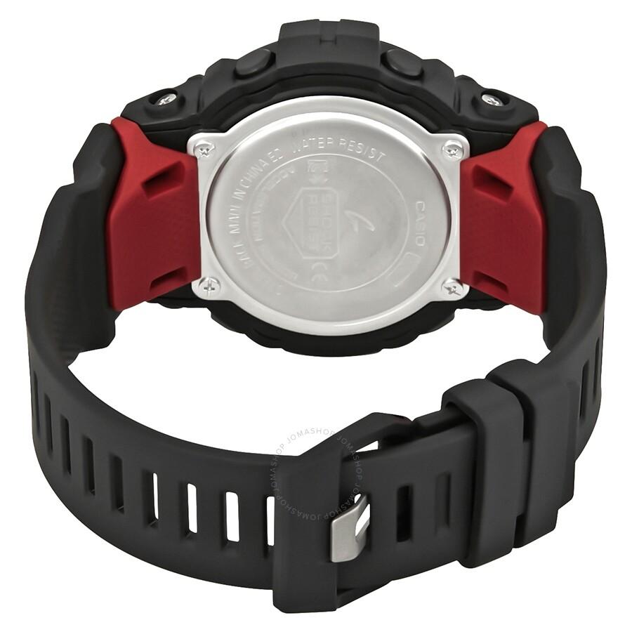 0baf86783 ... Casio Premier G-Shock Bluetooth G-Squad Digital Black and Red Watch  GBD800-