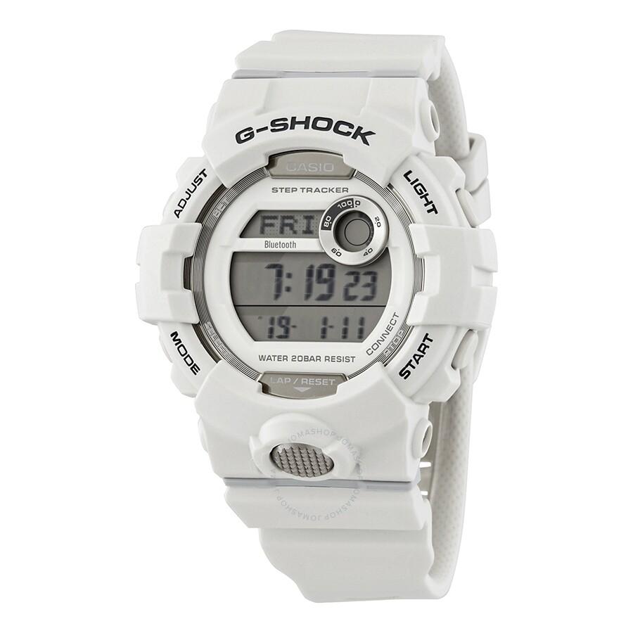 24b4e812f Casio Premier G-Shock Bluetooth G-Squad Digital White Watch GBD800-7 ...
