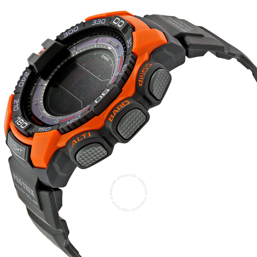 5eeccbf0ee03 Casio Pro Trek Digital Black Resin Men s Watch PRG-270-4CR - Pro ...