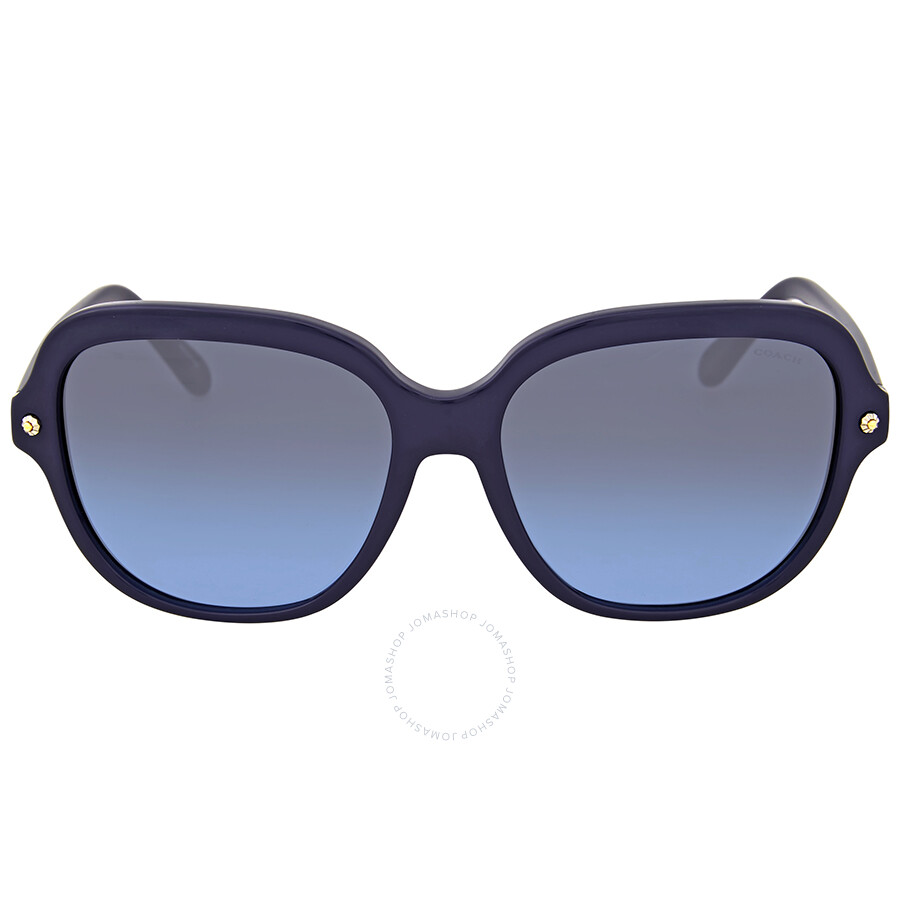 23c2d1f4c8 Coach Grey Blue Gradient Plastic Sunglasses Item No. HC8192-542217-56