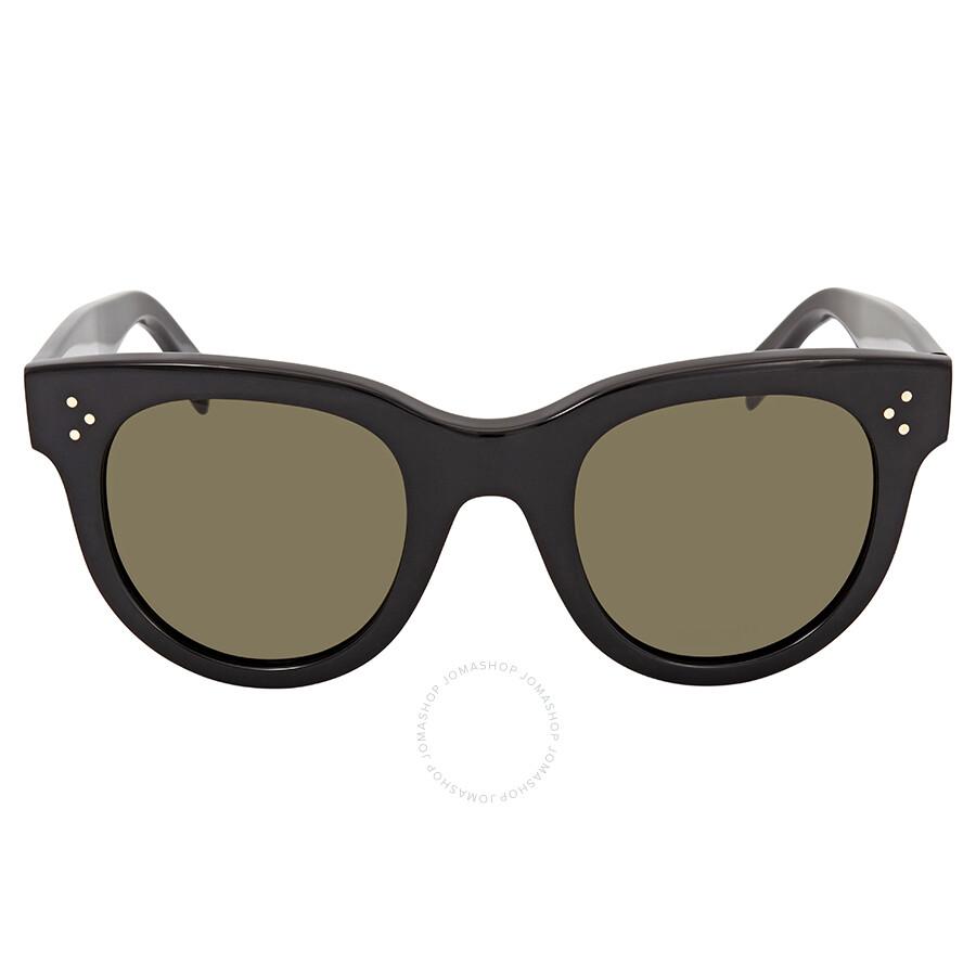 a52093c69d Celine Baby Audrey Green Round Sunglasses CL41053S 8071E 47 - Celine ...
