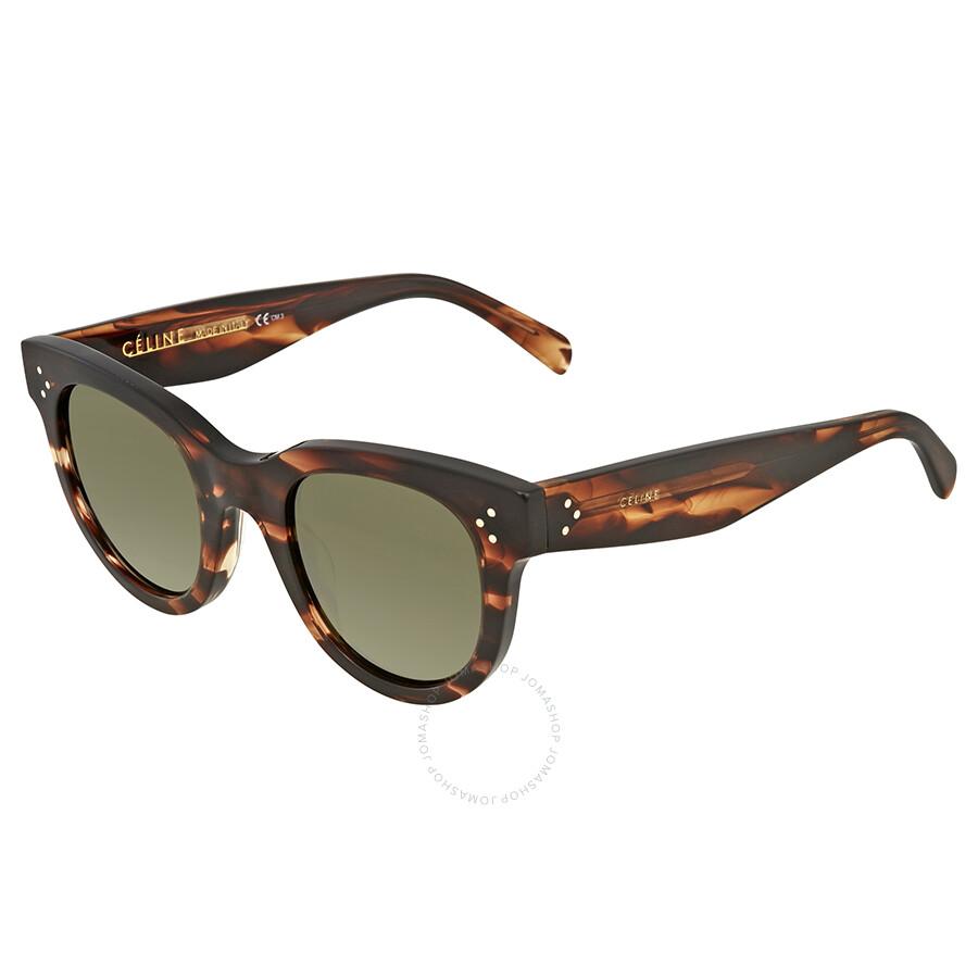 865759a96ae Celine Baby Audrey Green Round Sunglasses CL41053S 9RH1E 47 - Celine ...