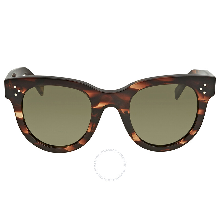 4eae174a83b2 Celine Baby Audrey Green Round Sunglasses CL41053S 9RH1E 47 - Celine ...
