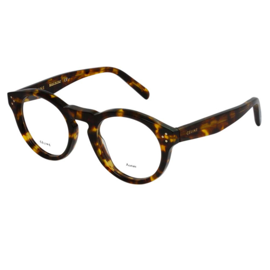 6150c90a95f1 Celine Blonde Tortoise Eyeglasses 41381 0E88 47 - Celine ...