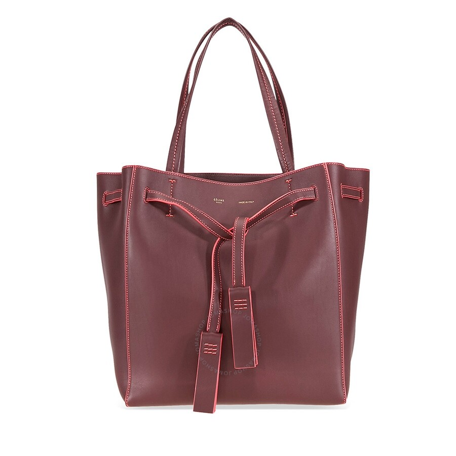 10adcd76f6ff Celine Cabas Phantom Medium Tote-Pink  Burgundy - Celine - Handbags ...