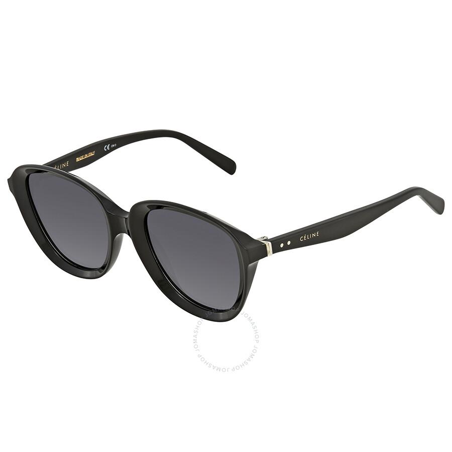 48fe7ff12061 Celine Dark Grey Gradient Round Sunglasses CL41448S 8079O 51 ...