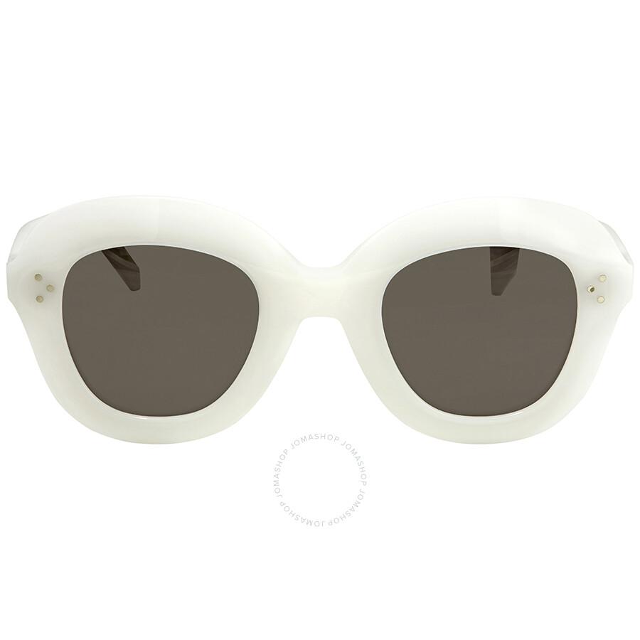 bce8950fafe9 Celine Grey Round Sunglasses CL41445S VK6IR 46 - Celine - Sunglasses ...
