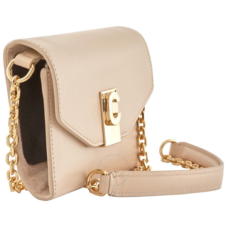 Celine Ladies Iphone X and XS Clutch Bag in Nude - Celine