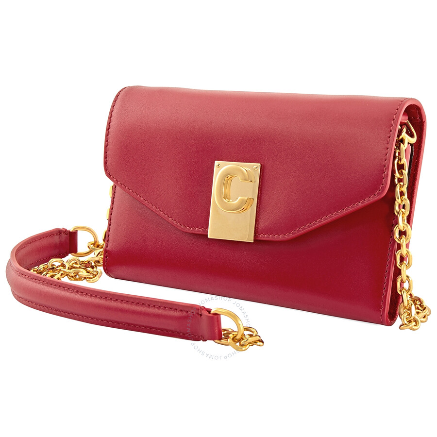 Celine Ladies Iphone X and XS Clutch Bag in Red - Celine