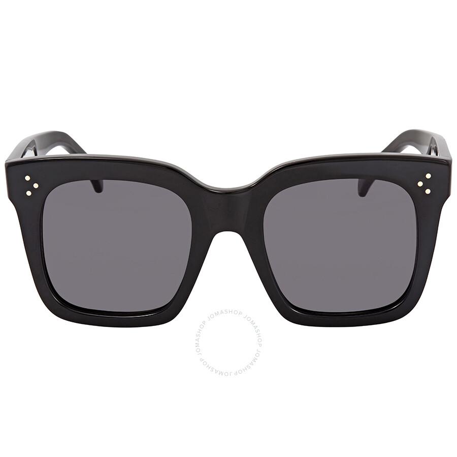6e8f2381fae9b Celine Tilda Dark Grey Square Sunglasses CL41076S 807BN 51 - Celine ...