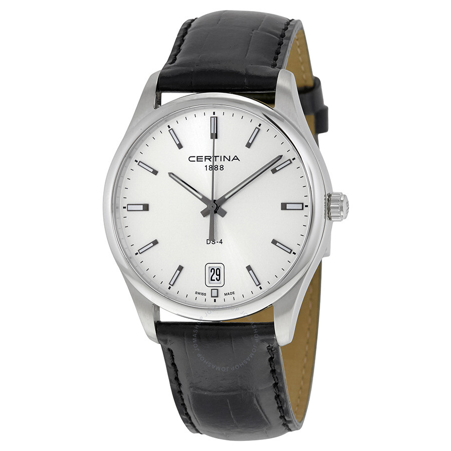Certina ds 4 silver dial men 39 s quartz watch for What watch to buy