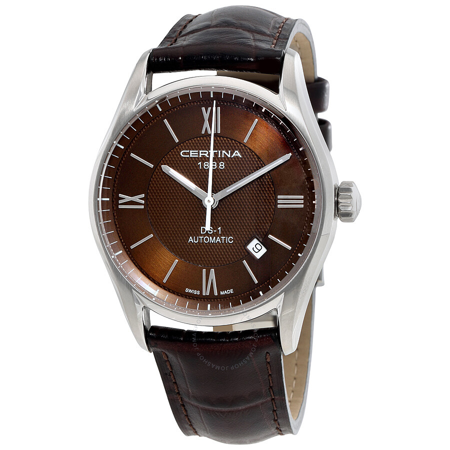 certina ds 1 automatic brown