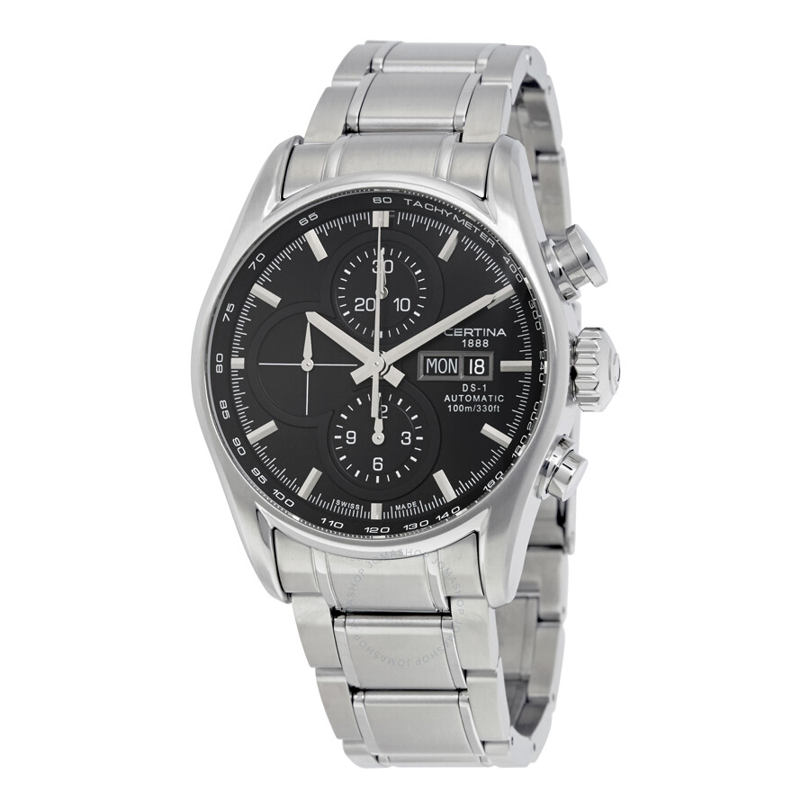certina ds 1 chronograph automatic men 39 s watch. Black Bedroom Furniture Sets. Home Design Ideas