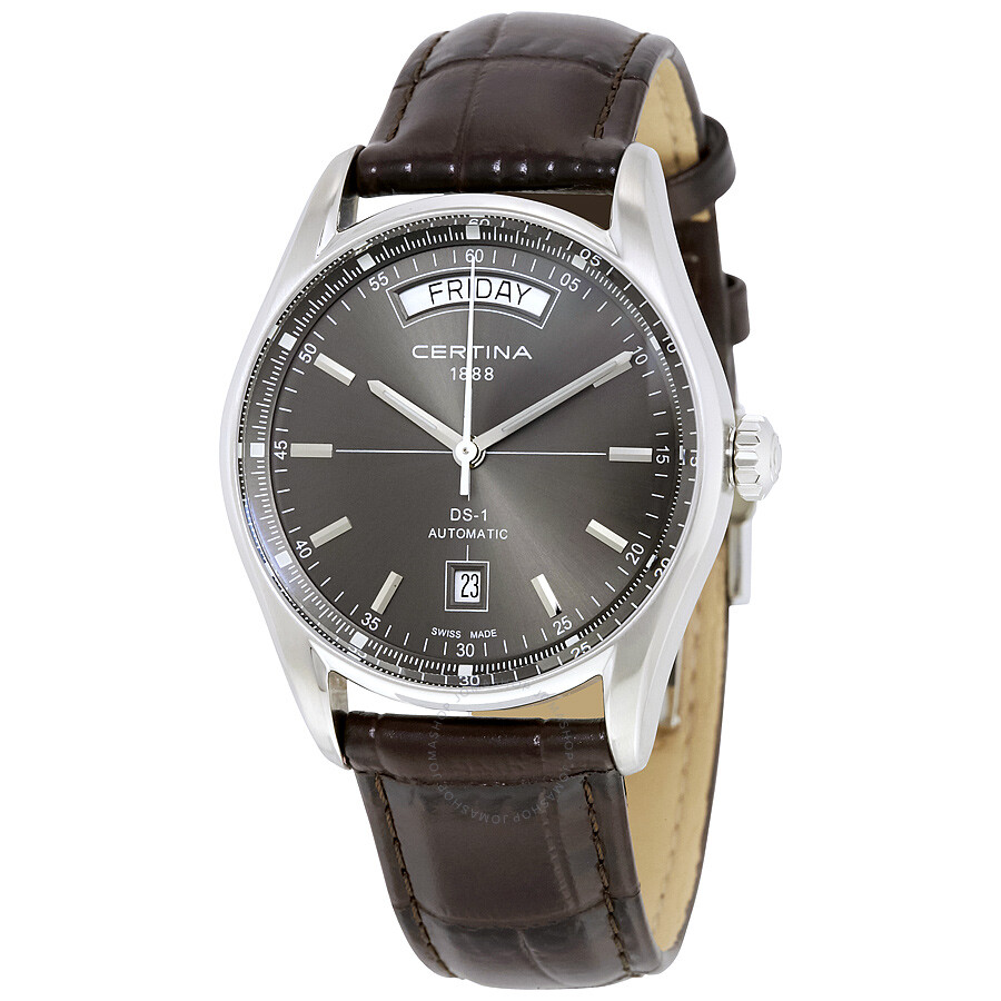 certina ds 1 day date automatic men s watch c0064301608100 ds 1 certina ds 1 day date automatic men s watch c0064301608100
