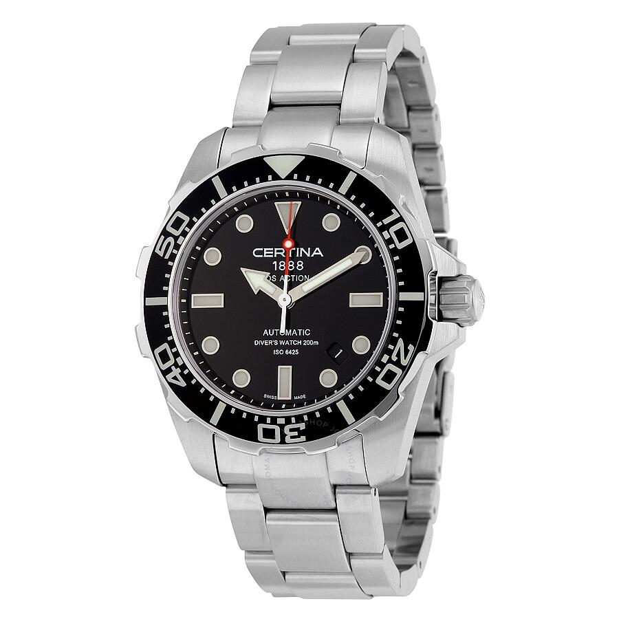 certina ds action diver automatic mens watch c01340711